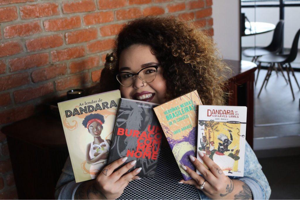 jarid arraes e seus livros
